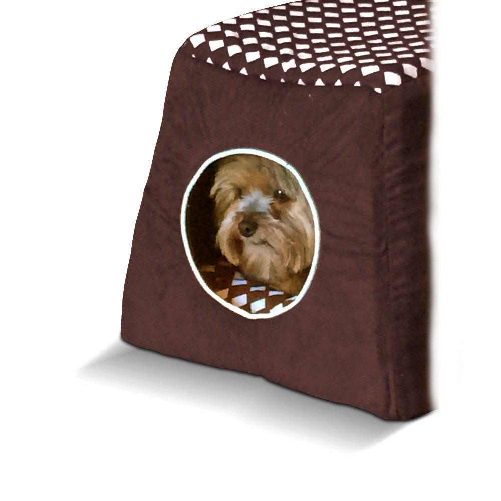 Amazon Com Abyss Pets 2 In 1 Convertible Pet Bed House Great For Dogs And Cats One Simple Fold Converts From House T Pet Bed Pet Beds Dog Bed Furniture