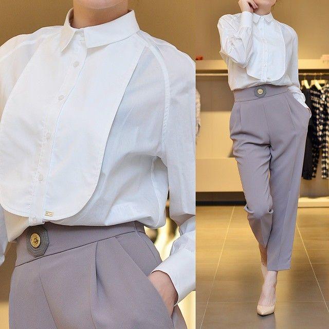 : Блузка, брюки #elisabettafranchi  Туфли #ballin  Скидка 30% на новую коллекцию.