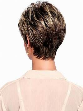 Image Result For Short Haircuts For Women Over 50 Back View Cabelo Curto Chique Cabelo Curto Dicas Para Cabelo Curto