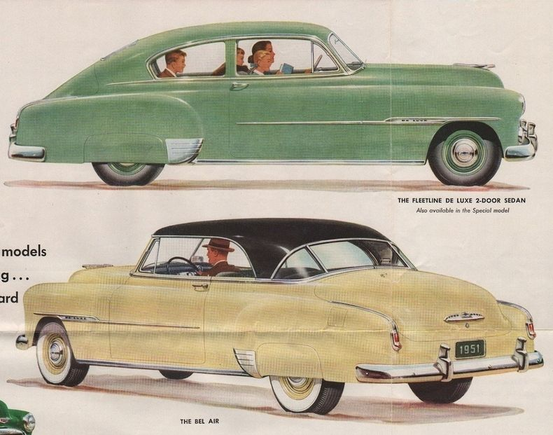 1951 Bel Air Specs Colors Facts History And Performance