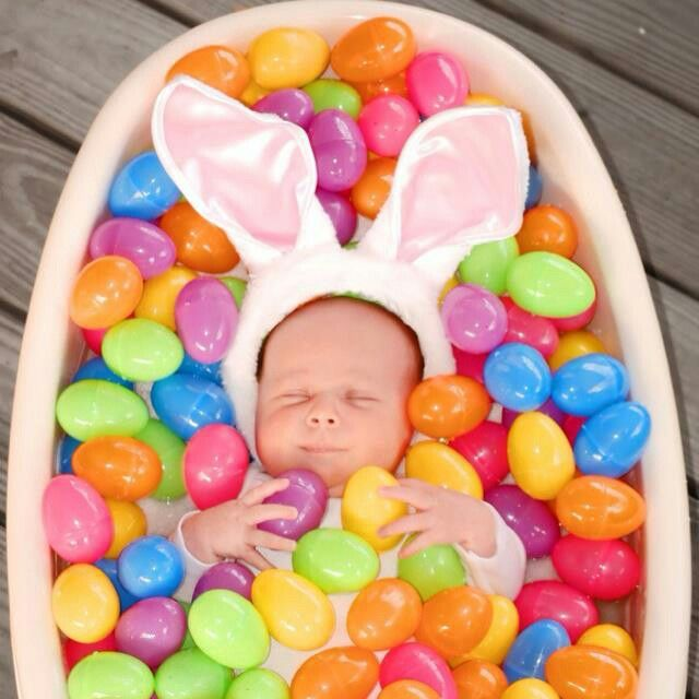 Easter ideas the best collection of pinterest top pins pinterest awwww easter baby photo ideas negle Images