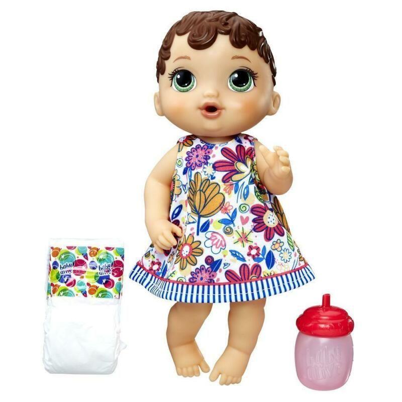 Baby Alive Snugglin/' Sarina Medium Skin Doll New Free Shipping