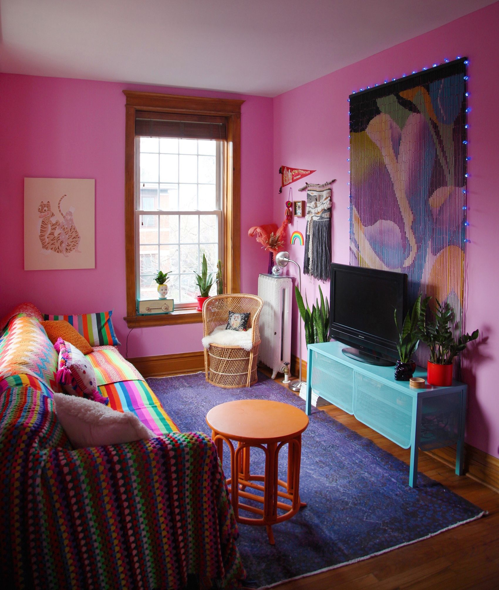 A Celebration of Punchy Colors   Living room colors ...