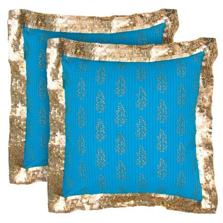 I pinned this Ganges Pillow from the Graphic & Metallic event at Joss and Main!