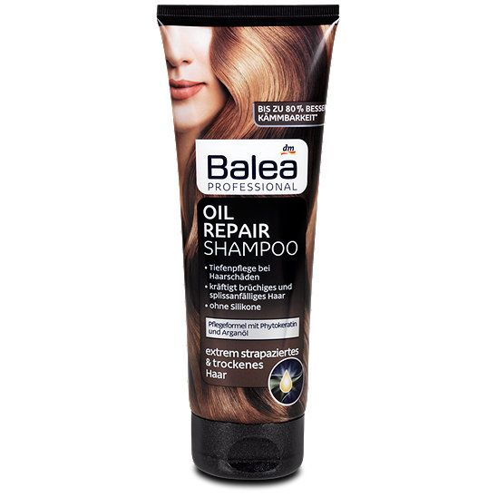 Balea Professional Oil Repair Shampoo Shampoo Im Dm Online Shop Dm Online Shop Shampoo Schonheit
