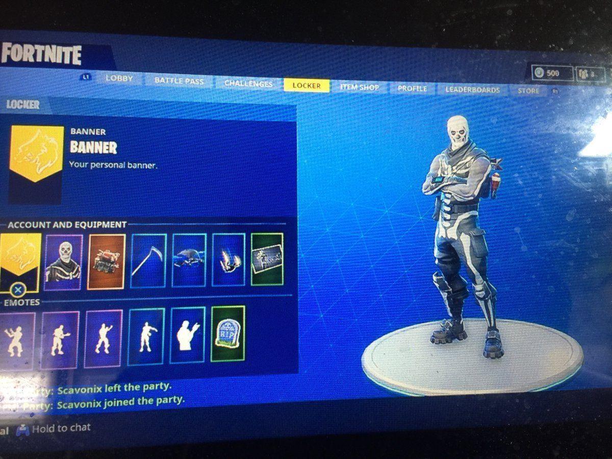 Fortnite Account For Sale Skull Trooper Ghoul Trooper Renegade