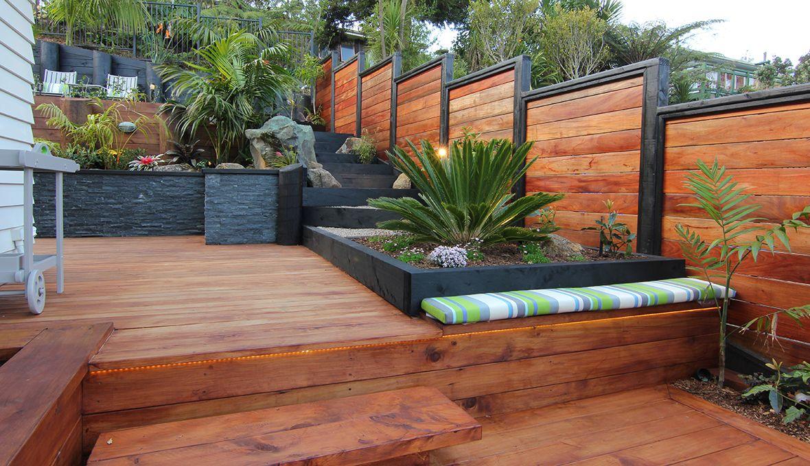Outdoor Entertainment Extravaganza Wooden Deck Designs Deck