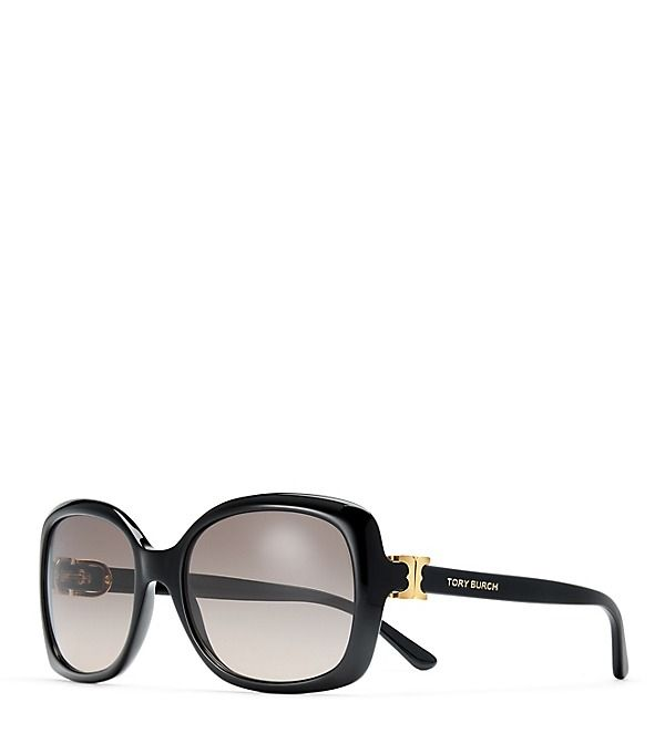 be747ff92593 195.00 Tory Burch Gemini Rectangle Sunglasses | Fashion | Rectangle ...