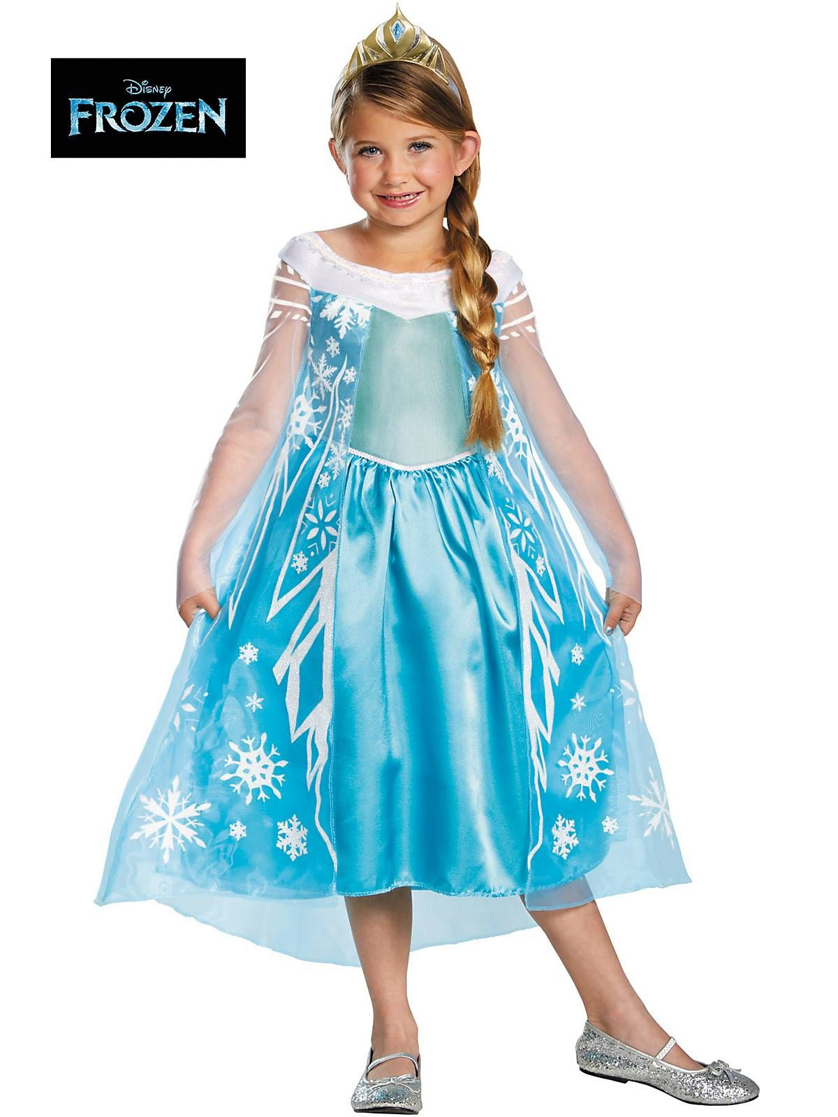 12605a6a Girl's Frozen Elsa Deluxe Costume! See more Disney princess costumes for  birthday parties & more at BirthdayinaBox.com!