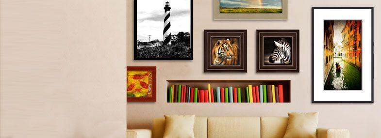 Custom Frames | Home Decor | Pinterest | Custom frames online ...