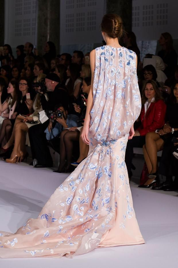 View all the detailed photos of the Ralph & Russo haute couture spring 2016 showing at Paris fashion week.  Read the article to see the full gallery.