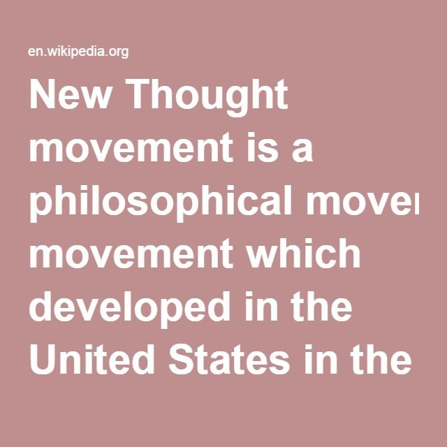 thought movement