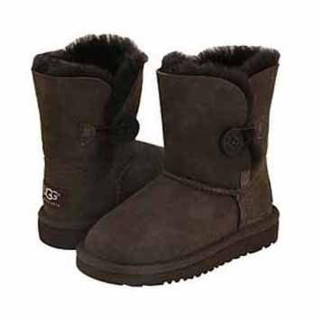 UGG Bailey Button Kids Boot 5991 Chocolate, FREE SHIPPING UGG Boots around the world, Kids UGG Boots, Womens UGG Boots, Girls UGG Boots, Mens UGG Boots, Boys UGG Boots, #WinterOutfit, #NewYearOutfit, #2014trends