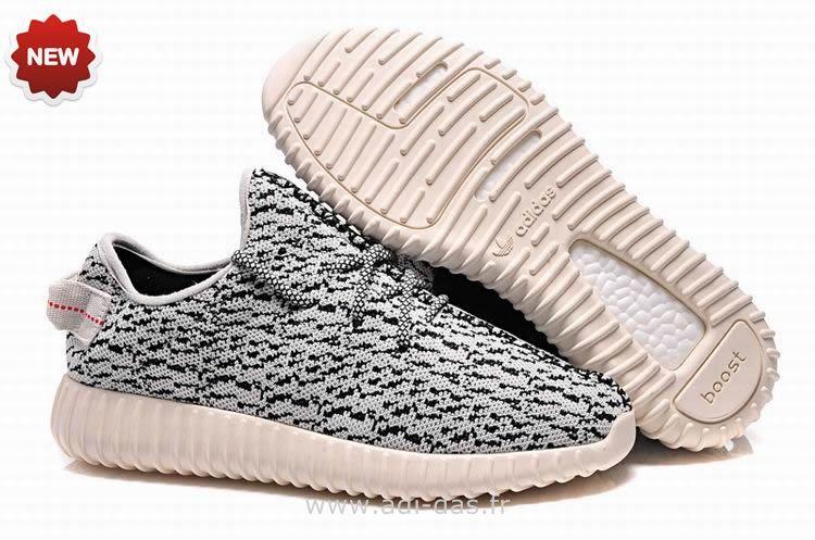 Gris adidas yeezy impulso 350 basso kanye west, pour les hommes et femmes