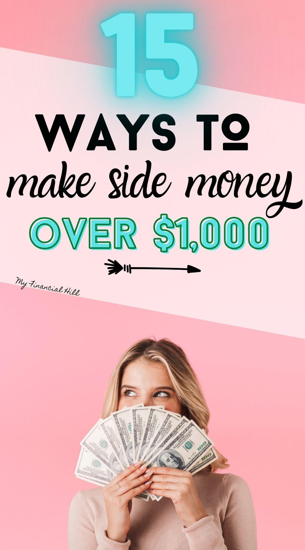 Ways To Make Money Way To Make Money Side Money Make Side Money