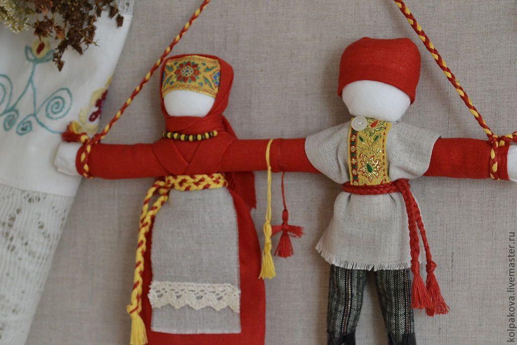 куклы для молодоженов в старину фото весной