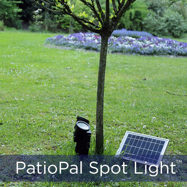 36-LED Multi Purpose Solar Flag - Spot and Tree Up-light | Silicon
