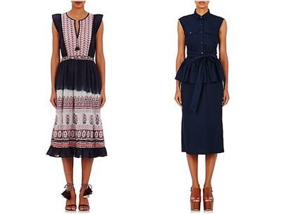 Weekend and work dresses from Barneys New York