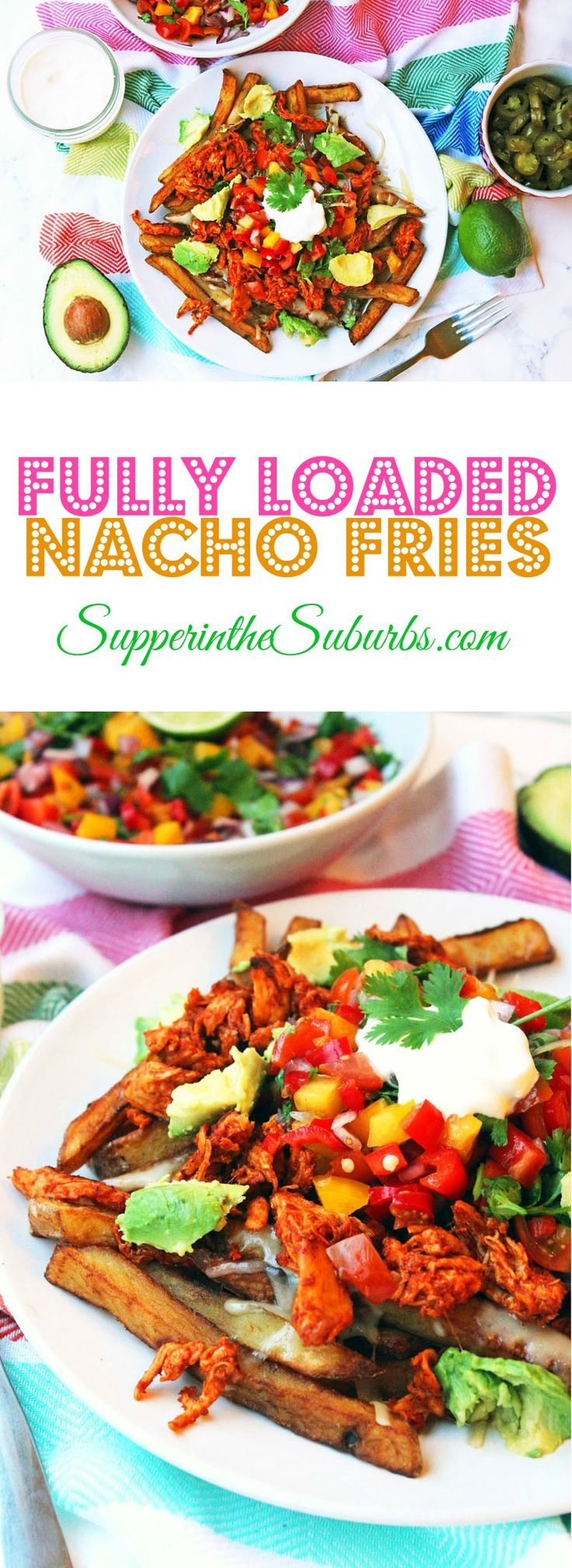 These Fully Loaded Nacho Fries have all the flavours of classic nachos with…