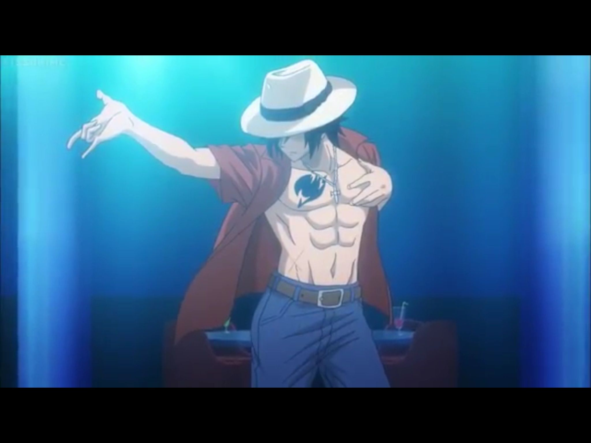 Grey knows he can dance fairy tail gray