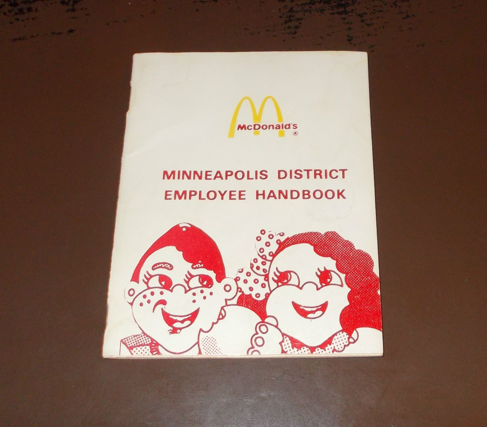1970's Mcdonald's Employee's Handbook | McDonalds Thru the