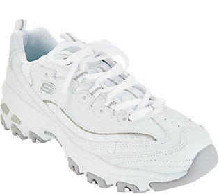 Skechers D'Lites Lace up Sneakers Looking Glass | Products