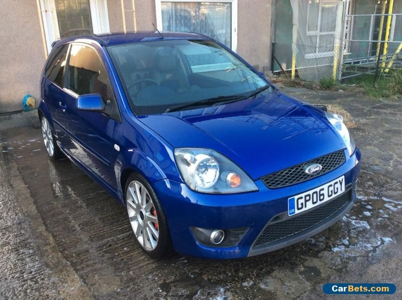 2006 ford fiesta st 150 blue ford fiestast forsale unitedkingdom cars pinterest. Black Bedroom Furniture Sets. Home Design Ideas