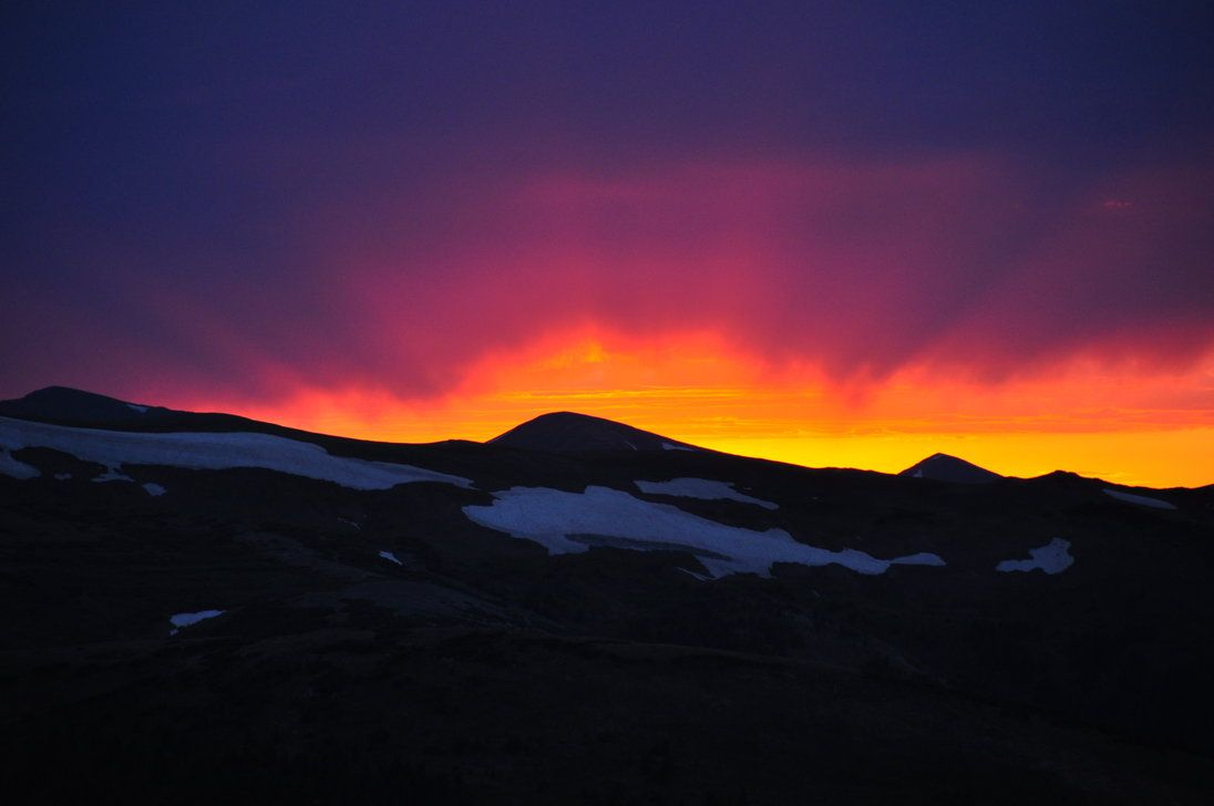 Rocky Mountain Sunset By Scbandnerd26 On DeviantART