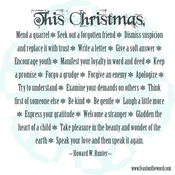 109 Best Christmas Lds Images On Pinterest: 25 Days Of Christmas Quotes: Day 17