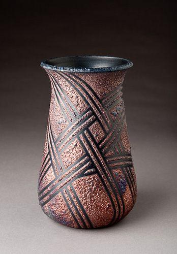 Raku Vase Raku Raku Pottery Raku Ceramics