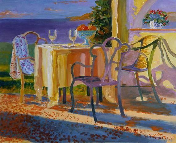 Med Evening, by William Ireland