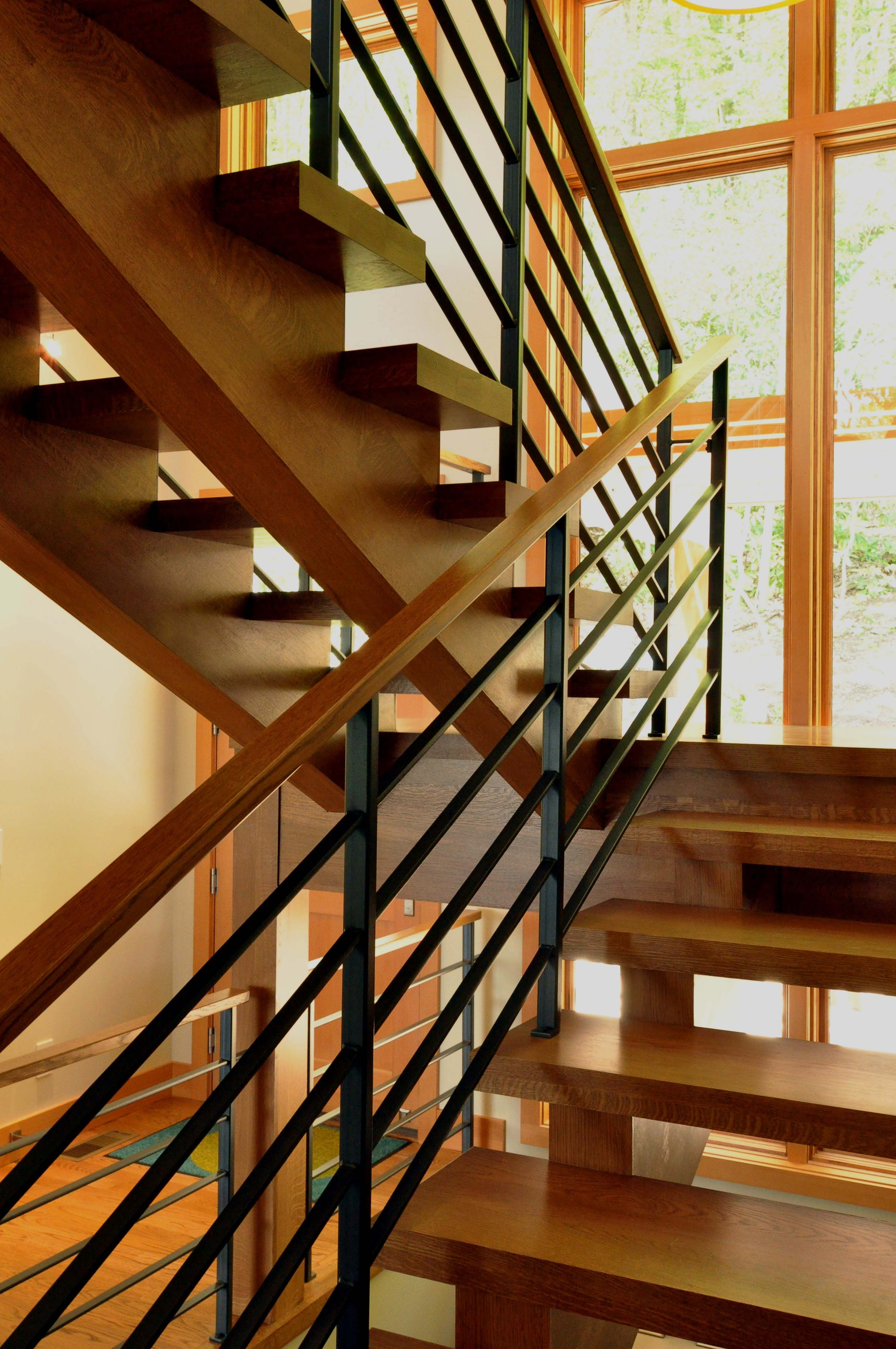 Open Staircase Design Open Stairway Railing Google Search Casas Stair