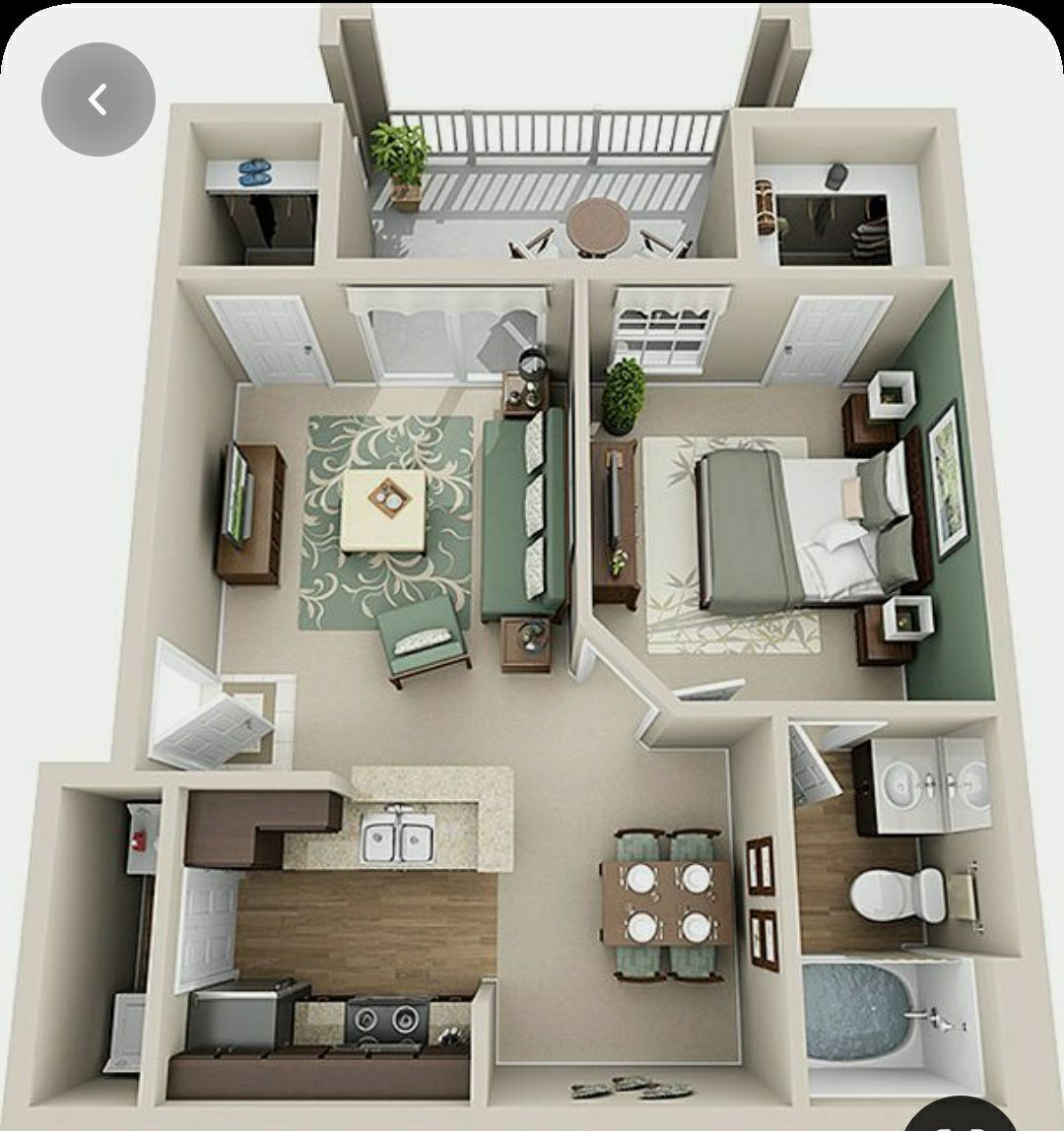 Manan Love Sims House Small Apartment Floor Plans House Layout Plans