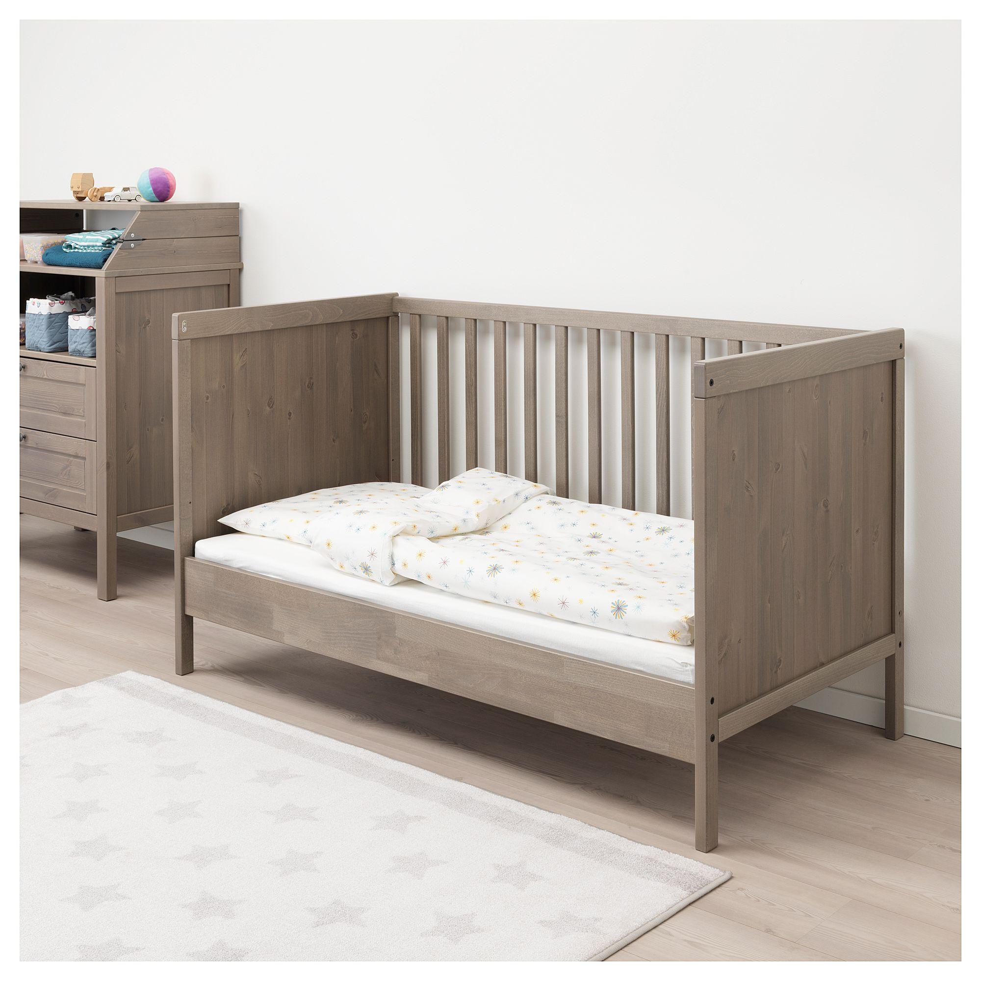 SUNDVIK κούνια IKEA in 2020 Cot, Ikea baby, Ikea