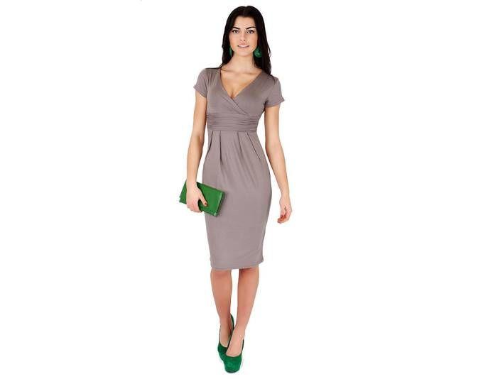 Kleid Elegant Abendkleid Mini Kleid Gr. 36 38 40 42 44 46 S M L XL ...