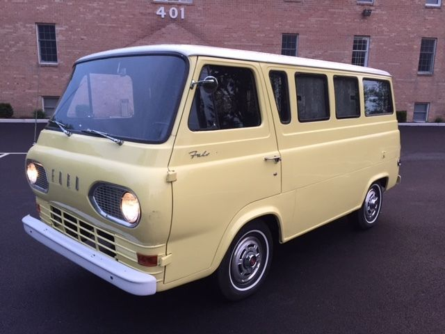 No Pop Top 1965 Ford Falcon Camper Van Ford Falcon Van For