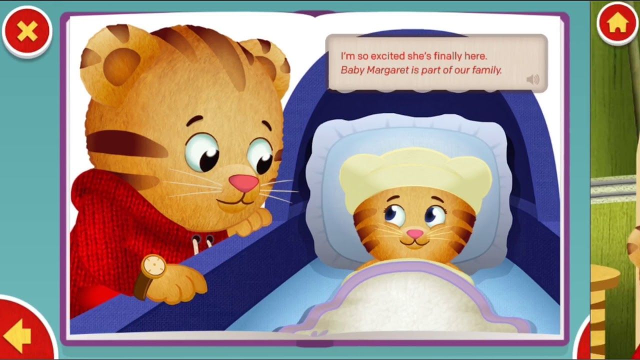 APPS & GAMES ¦ Daniel Tiger Storybook App ¦ PBS KIDS