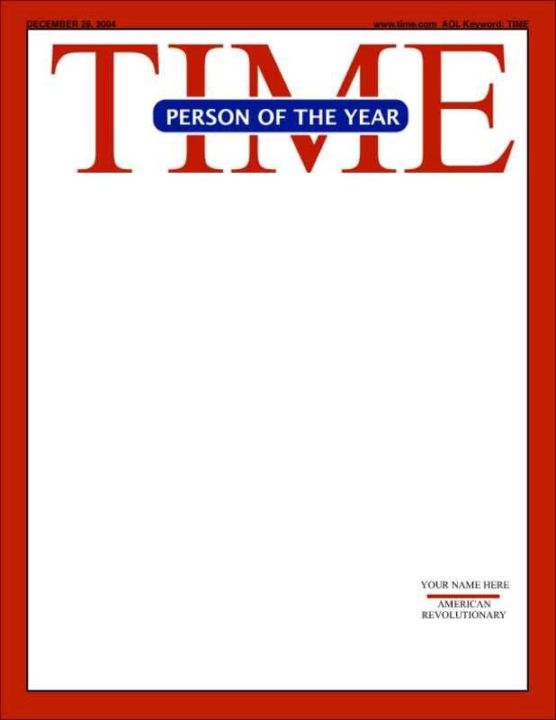Magazine Cover Template