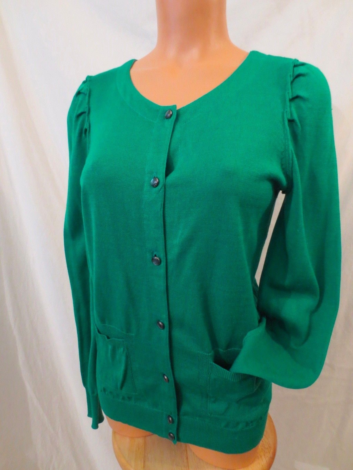 MARC by MARC JACOBS Green Cotton Cardigan Sweater - $24.99 at JOHNNY BOMBSHELL, free US shipping #marcjacobs #cardigan