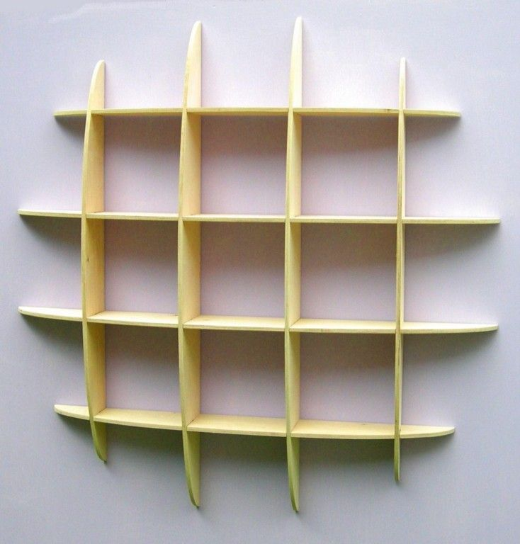 wall mounted shelves - Wall Hanging Shelves Design