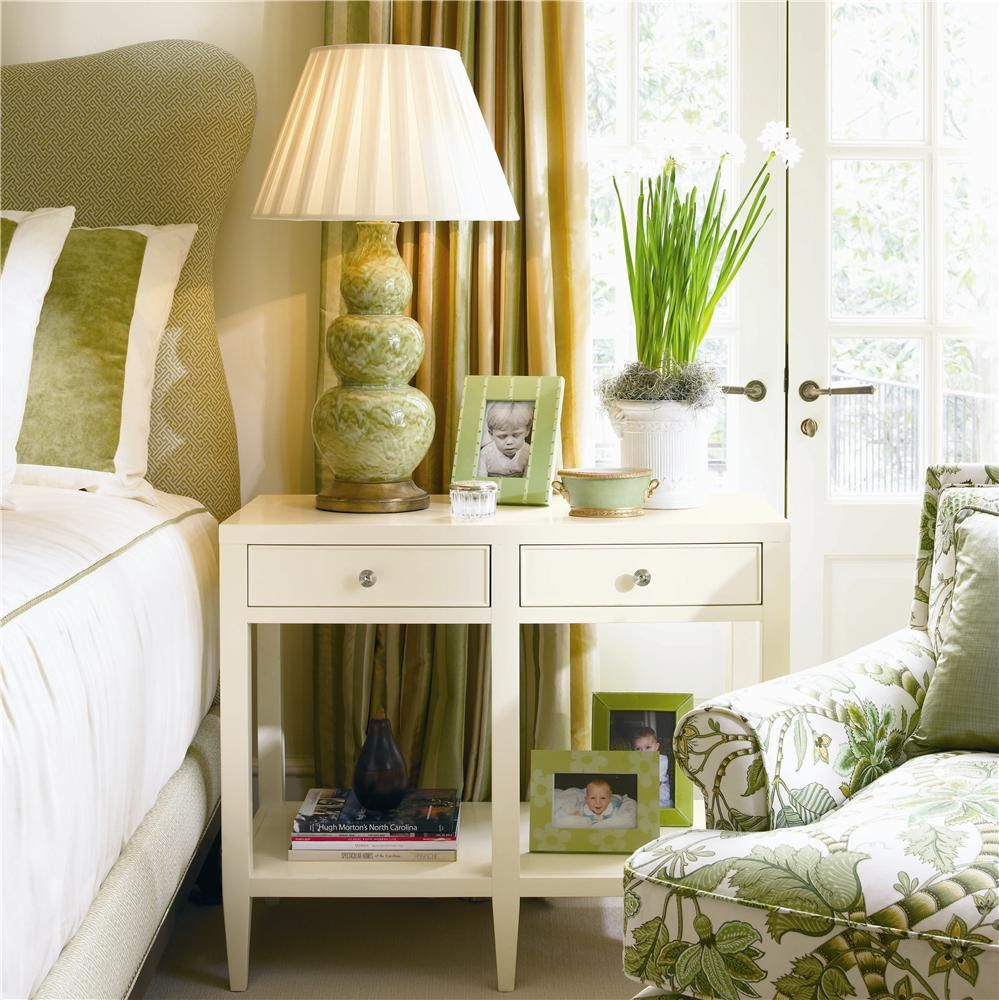 Paul schatz furniture portland or  New Traditional Bedside Table by Century  Decor Case Goods