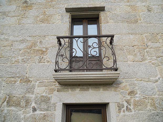 FORJA MODERNA, BALCONES MODERNOS - ARTESANIA DESIGUAL casa - balcones modernos