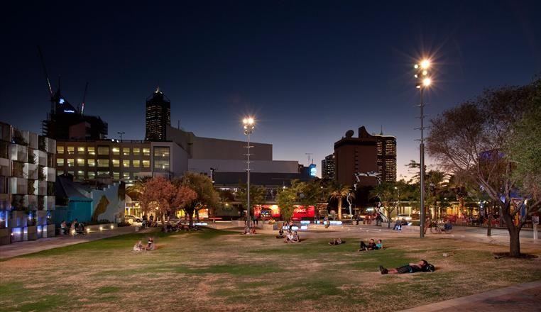 Northbridge piazza in perth australia architectural design city