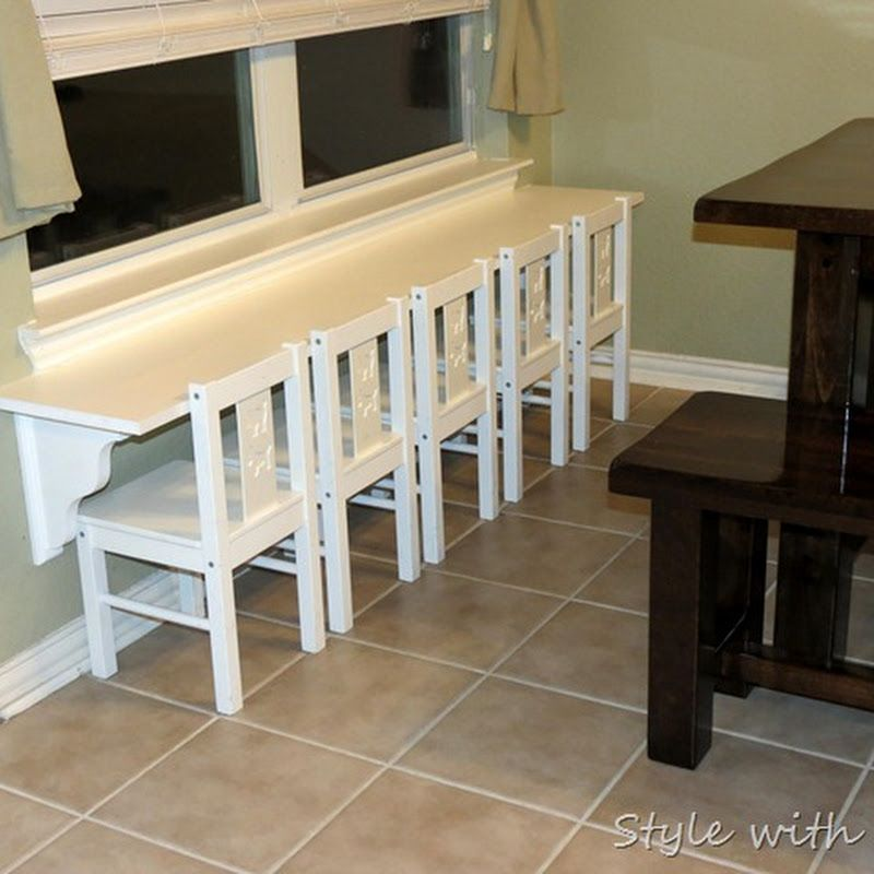 {Style With Cents}: Pottery Barn Kidu0027s Knock Off Table/Train Table