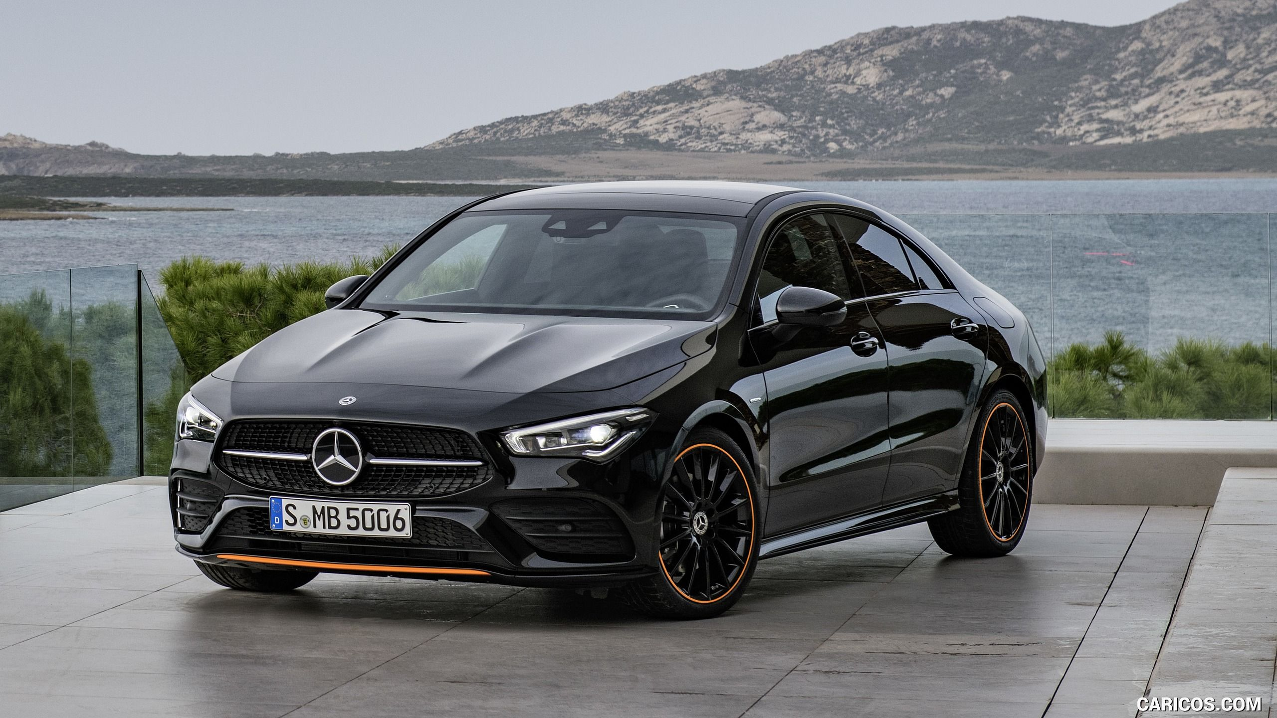 2020 Mercedes Benz Cla 250 Coupe Edition Orange Art Amg Line