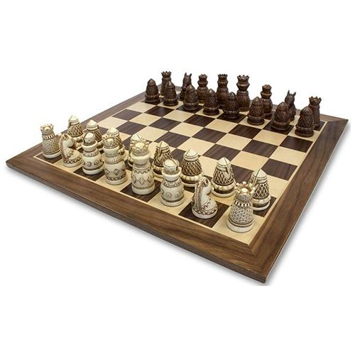 Check This 10 Best Luxe Chess Sets Medieval Chess Set Medieval Chess Themed Chess Sets