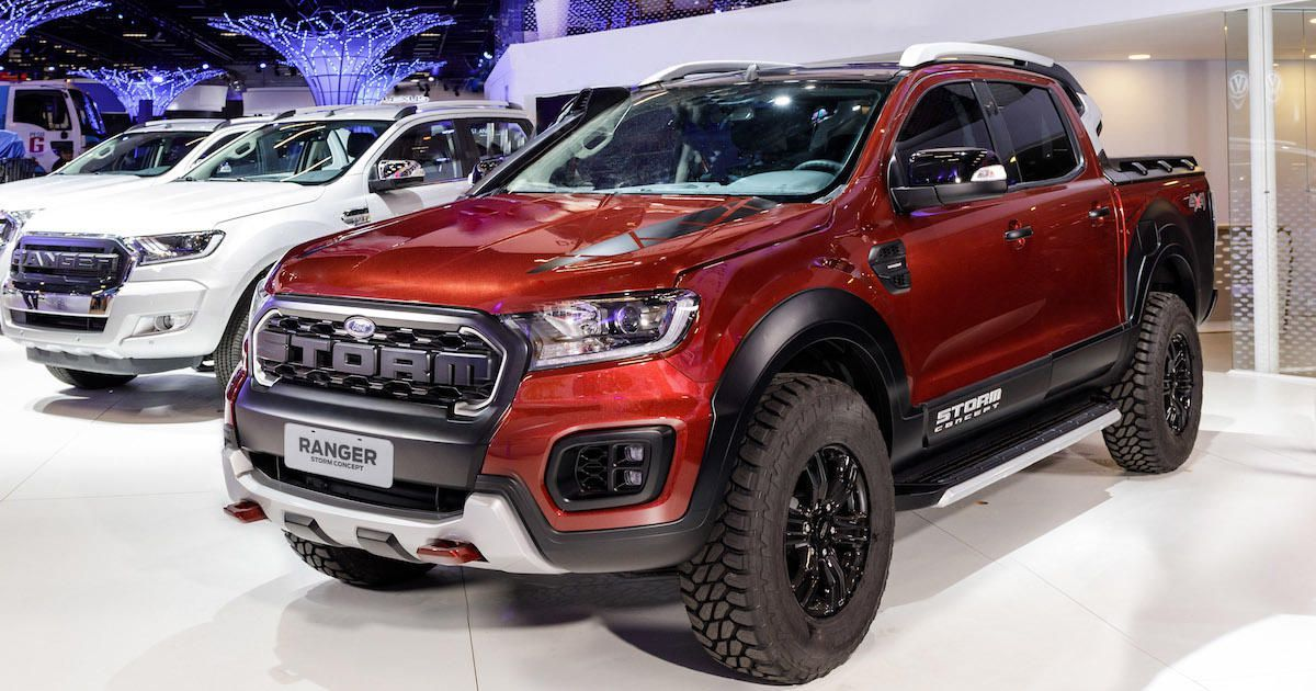 ford s ranger storm concept is a cheaper raptor lookalike that s not rh pinterest com
