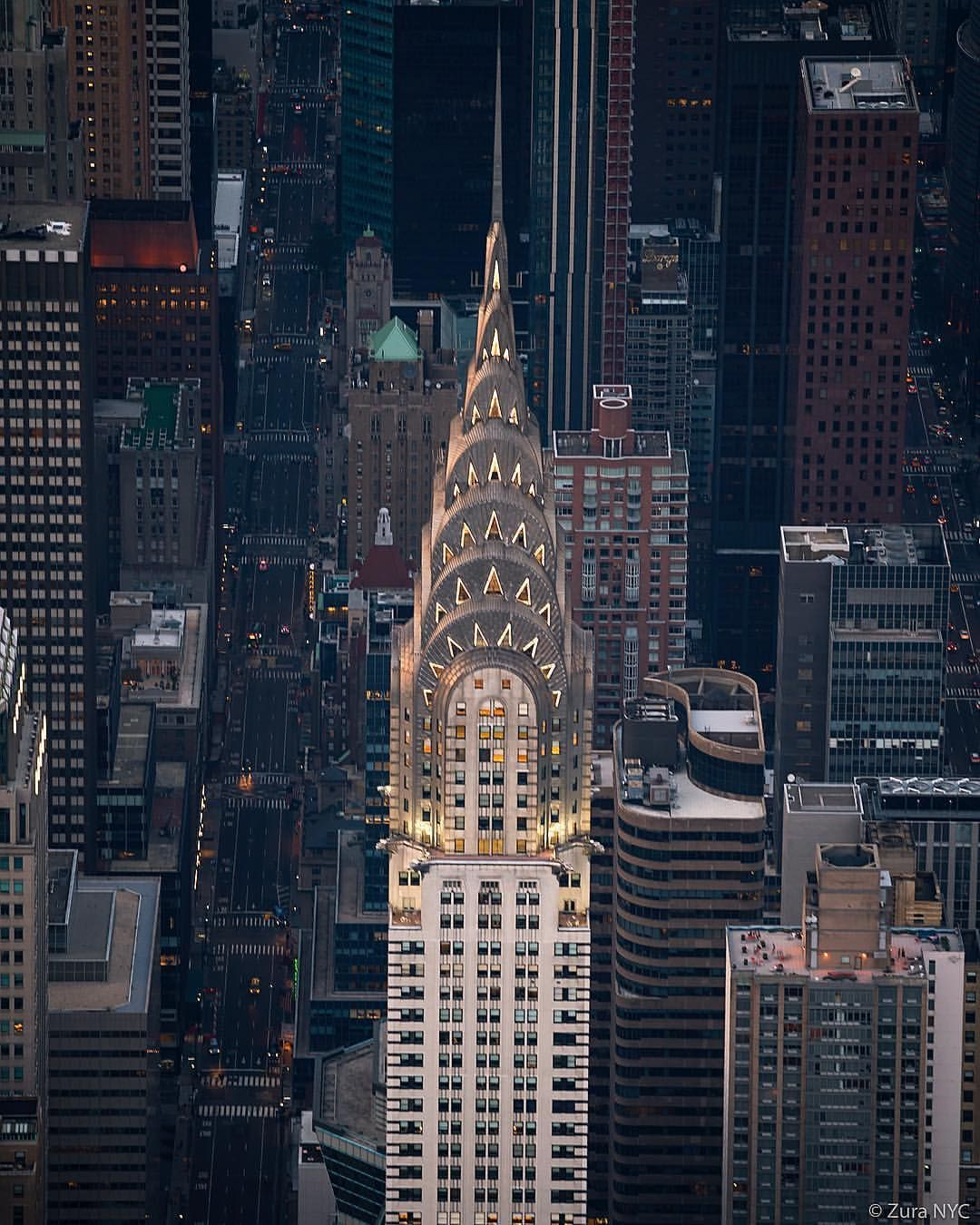 Chrysler Building New York United States Of America New York