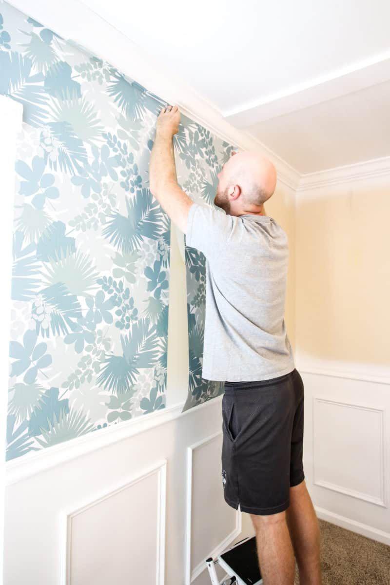 How To Hang Peel Stick Wallpaper Peel And Stick Wallpaper Target Wallpaper Home Decor
