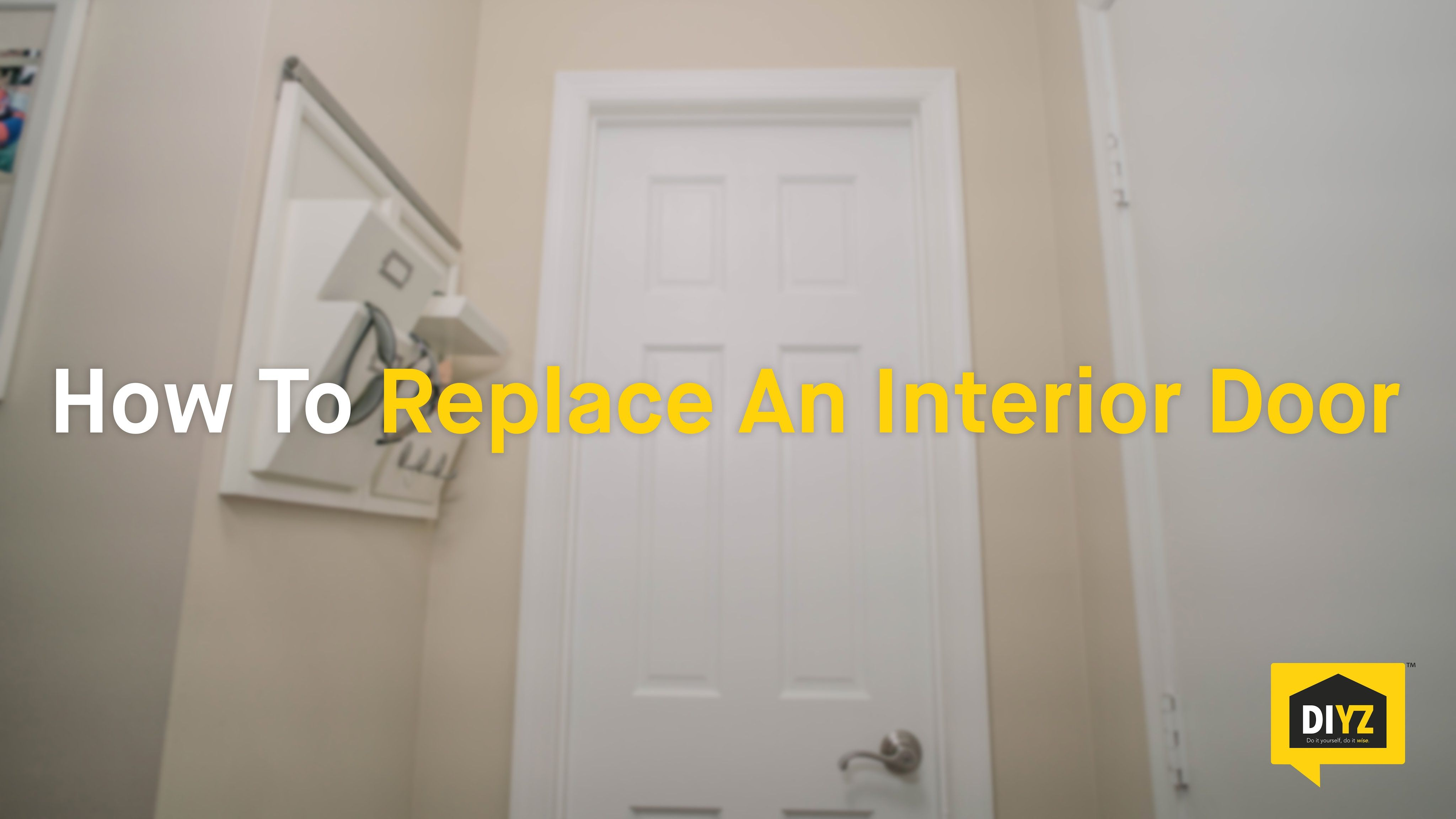 How To Replace An Interior Door Home Repairs Pinterest